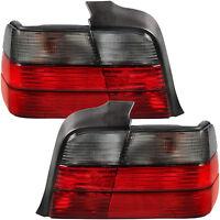 Rückleuchten Heckleuchten Set für BMW E36 Bj. 90-99 nur Limo rot smoke schwarz
