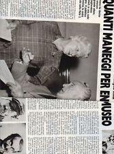 SP23 Clipping-Ritaglio 1981 Gilberto Govi Quanti maneggi per entrare al museo