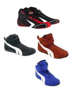 Kart Motorsport Racing Shoes Red-Black-Blue Boots-Kids-Adult Sizes Summer Offer