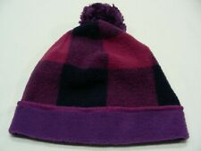 COLUMBIA SPORTSWEAR - PURPLE PLAID - INFANT SIZE STOCKING CAP BEANIE HAT