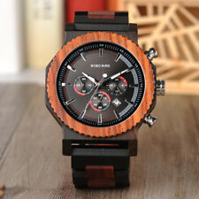 BOBO BIRD Classic Wooden Watches Top Luxury Wood Watches for Men With Gift Box