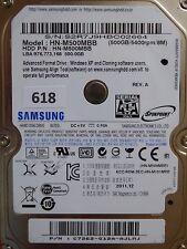 500GB Samsung HN-M500MBB | C7672-G12A-AJLMJ | 2011.12 #618