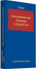 New, INTERNATIONAL AND EUROPEAN  CRIMINAL LAW, , Book