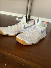 more photos a457b bb838 NEW Nike Zoom KD 9 Durant Summer Pack Gum Bottom White 843392-900 Size 11.5