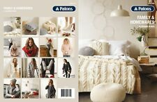 PATONS - FAMILY & HOMEWARES PATTERN BOOK #1309