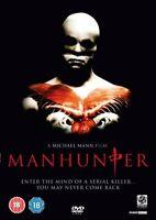Manhunter -  William Petersen, Kim Greist, Michael Mann NEW UK REGION 2 DVD PAL