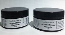 Bear Bridge Farm Advanced Therapy Cream Package, Daily Moisturizer & Night Cream