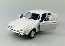 WELLY 1969 FORD CAPRI WHITE 1:34 DIE CAST METAL MODEL NEW