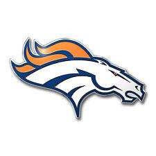 Team ProMark NFL Denver Broncos Aluminum Color Car Truck Emblem Sticker Decal