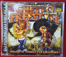 GHETTO FREESTYLE MIX VOL 2 CD CHICAGO DJ MIRACLE & DJ POUNDD NEW SEALED MIXED