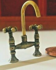 Dolls House Miniatures  DIY668 Antique  Mixer Tap 1:12th Scale
