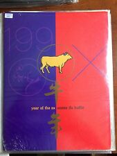 1997 Year of the Ox , Lunar Year ,Canada Post Thematic Pack #74