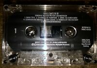 HALLOWEEN III 3 ORIGINAL SOUNDTRACK CASSETTE TAPE SUPER RARE JOHN CARPENTER 1982