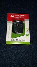 Sigma Fahrradcomputer BC 9.16 ATS schwarz 09160