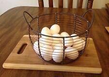 """Round Wire Basket Chicken Net Basket Storage Basket /Copper Wire ,Large12"""""""