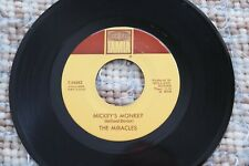 Miracles Mickey's Monkey / Whatever Makes You Happy Soul / R&B Tamla 54083 Vg+