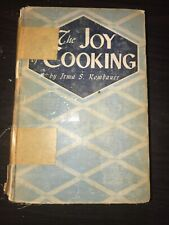 1943 WWII Edition The Joy of Cooking By Irma S Rombauer Hardcover Printed In USA