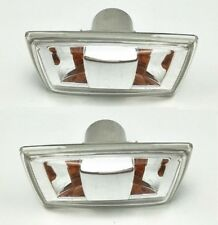 Pair Side Fender Clear Lamp Light Signal Indicator For Chevy Cruze 2009-2014