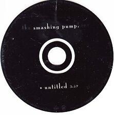 THE SMASHING PUMPKINS Untitled CD Single - 1 Track Promo