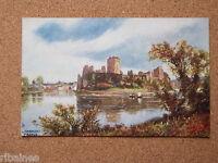 R&L Postcard: Pembroke Castle, Raphael Tuck Oilette, Wales