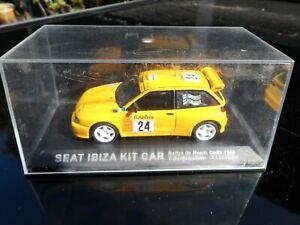 SEAT IBIZA KIT CAR RALLYE DE MONTE CARLO 1999 T.GARDEMEISTER-P.LUKANDER