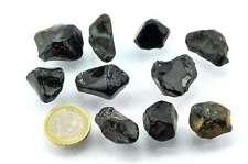 Lot obsidienne larme d'apache - 10 pièces - 60g environ