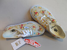 VANS Disney Winnie The Pooh Authentic Shoes Kid's/Children's Size 1 New In Box