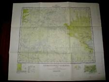 Chibougamau Roberval Quebec Topographical Map - 1951 - Good