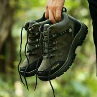Men Outdoor Waterproof Hiking Climbing Shoes Unisex Breathable Boots Sneakers sz