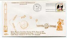 1976 Communications Technology Satellite Canadian Regions Cape Canaveral USA SAT
