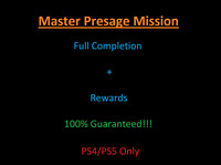 Master Presage Mission Completion (PS4) (PS5) 100% Guaranteed!