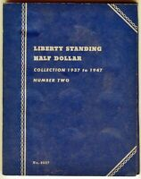 Whitman Liberty Standing Half Dollar Collection 1937 to 1947 No. 2, #9027