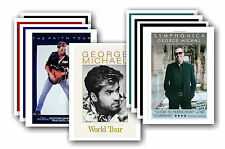 GEORGE MICHAEL - 10 promotion poster - sammelbar postkarte set # 1