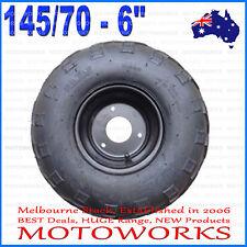 "145/70 - 6"" inch Front Rear Wheel Rim Tyre Tire Quad Dirt Bike ATV Buggy Gokart"