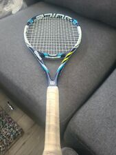 Used- Wilson Juice 100 Ul. 4 3/8 grip good to fair condition no cover