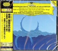 GIUSEPPE SINOPOLI-MUSSORGSKY: PICTURES AT AN EXHIBITION-JAPAN SHM-CD D46