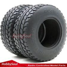 2pcs RC 2.2 Crawler Dune T/A Soft Tires Tyre OD 113mm Fit 2.2 Beadlock Wheel Rim