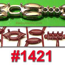 # 1421 82 WAX PATTERNS TENNIS BRACELET JEWELRY  CASTING Rubber Molds VULCANIZER