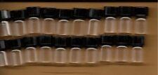 5/8 DRAM 1gram CLEAR GLASS BOTTLE  WICCA OILS SET OF 20