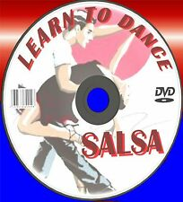 LEARN HOW TO SALSA DANCE DVD SIMPLE 2 FOLLOW STEP BY STEP DANCE LESSON GUIDE NEW