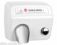 WORLD DA5(110/120V) Hand Dryer with Stamped Steel Cover