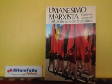 L 3.568 LIBRO UMANESIMO MARXISTA EVOLUZIONE E ISTANZE POSITIVE DI G GISMONDI