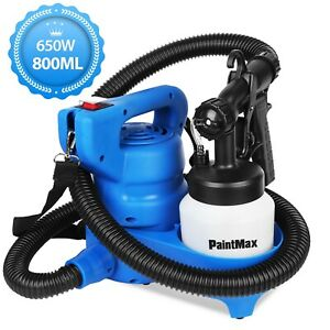 800ML HVLP Paint Sprayer Machine Handheld 650W Electric Spray Gun Home DIY Tool