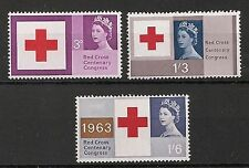 Red Cross Great Britain Commemorative Stamps (1960s)