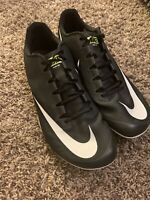 New Nike Zoom 400 Black Track Spikes Shoes Men's Size 11.5