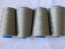 4X 5000m rolls OVERLOCKER & SEWING Thread only $4 roll. TOP QUALITY COLOURS