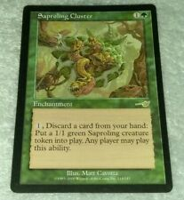 4 Saproling Cluster = Green Nemesis Mtg Magic Rare 4x x4