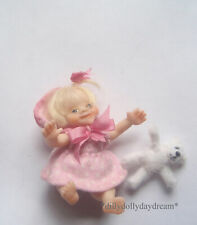 Miniature Ooak, Poseable Baby Girl Doll House Doll by Sally A Freeman