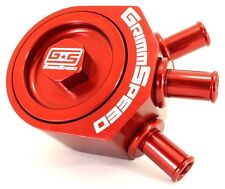 Grimmspeed Air Oil Separator Red for Subaru 02-07 WRX / 04+ STI