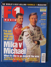 F1 Racing Magazine - November 1998 - Hakkinen & Schumacher Cover - Formula One